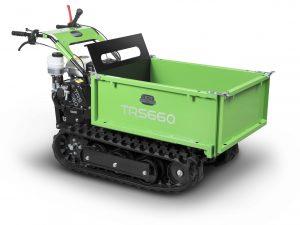 photo transporteur vert TRS 660 H de la marque MGM